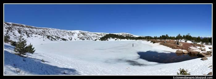 Lagunas de Neila laguna Larga