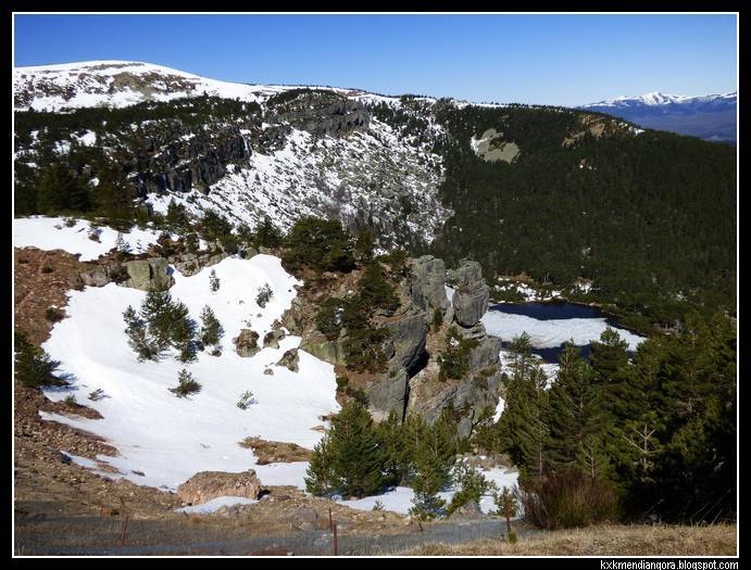 Lagunas de Neila laguna de la Cascada