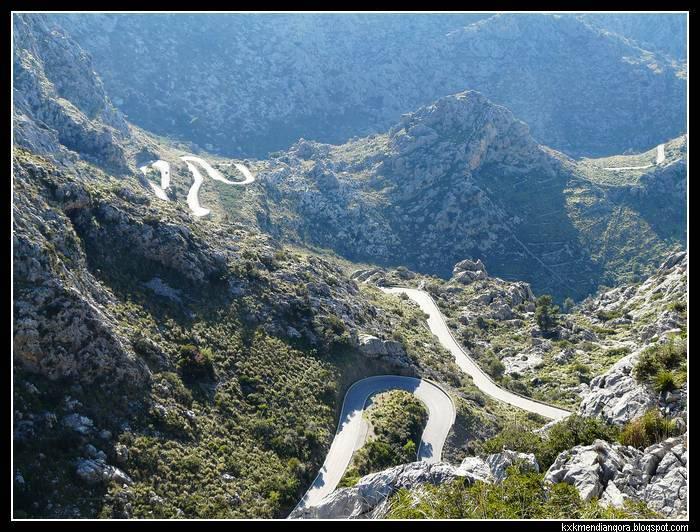 carretera Sa Calobra